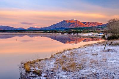 Sundown Frost I - Loch Shiel, Acharacle, Ardnamurchan