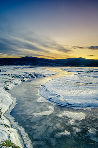 Icy Blue - Kentra Bay, Gobshealach, Ardnamurchan