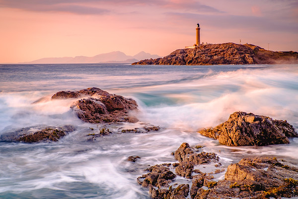 Wave Symphony II - Ardnamurchan Lighthouse from Dubh Rubha Mor, Ardnamurchan
