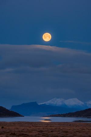 Cold Last Moon II - Kentra Bay, Arivegaig, Ardnamurchan