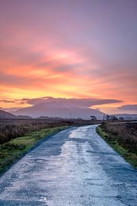 Morning Drive - Road from Ardtoe to Kentra, Gobshealach, Ardnamurchan