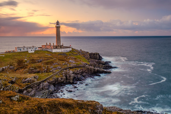 Sundown Side Light - Ardnamurchan Lighthouse, Ardnamurchan Point, Ardnamurchan