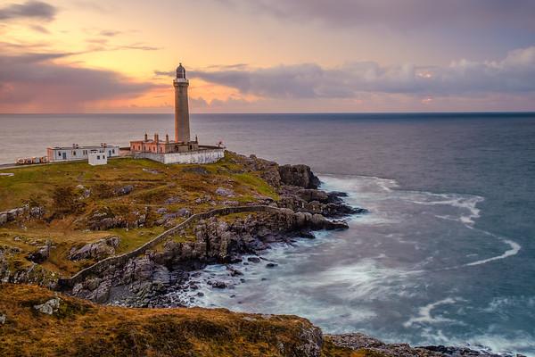 Sundown Side Light - Ardnamurchan Lighthouse, Ardnamurchan Point, Ardnamurchan