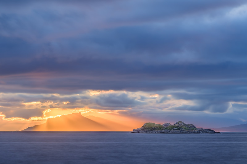 Enlightened - Isle of Eigg viewed from Ardtoe, Ardnamurchan