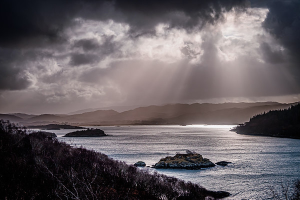 After Dennis I - Kentra Bay viewed from Ardtoe, Ardnamurchan