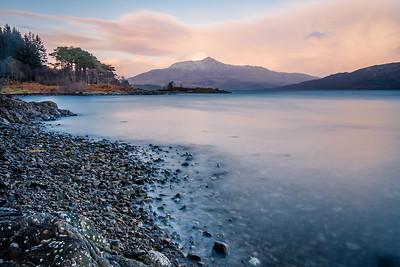 Respite II - Ben Resipole viewed across Loch Sunart from Torr Molach, Ardnamurchan