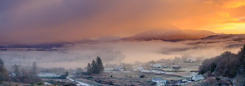 Light, Mist and Darkness - Loch Shiel, Acharacle, Ardnamurchan
