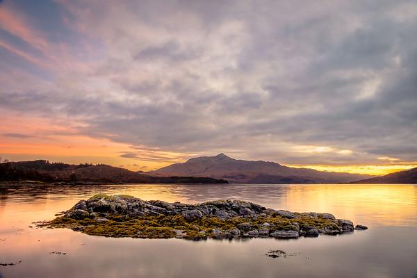 Sunart Rock - Loch Sunart, Camas Torsa, Salen, Ardnamurchan