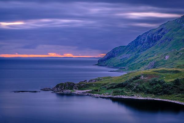 Red Horizon - Camas nan Geall, Ardslignish, Ardnamurchan