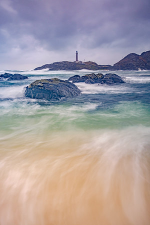 Great Seas II - Ardnamurchan Lighthouse viewed across Briaghlann, Ardnamurchan