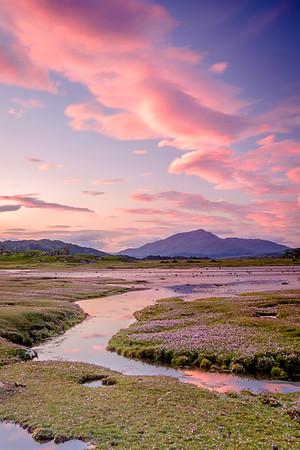 Pinks Beneath Pink I - Gobshealach, Kentra Bay, Ardnamurchan