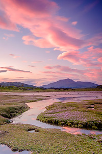 Pinks Beneath Pink I - Gobshealach, Kentra Bay, Ardnamurchan