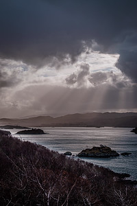 After Dennis II - Kentra Bay viewed from Ardtoe, Ardnamurchan