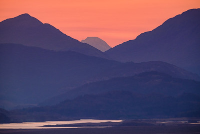 In Between - Ben Nevis from Tom Mor, Acharacle, Ardnamurchan