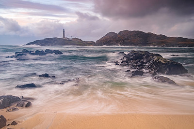 Great Seas III - Ardnamurchan Lighthouse viewed across Briaghlann, Ardnamurchan