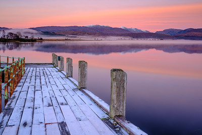 Frosted and Still I - Loch Shiel, Acharacle, Ardnamurchan