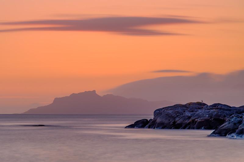 Pastel Eigg I - Sailean Dubh, Ardtoe, Ardnamurchan