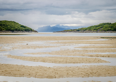 Meandering II - The Small Isles from Eileanan Loisgte, Kentra Bay, Ardnamurchan