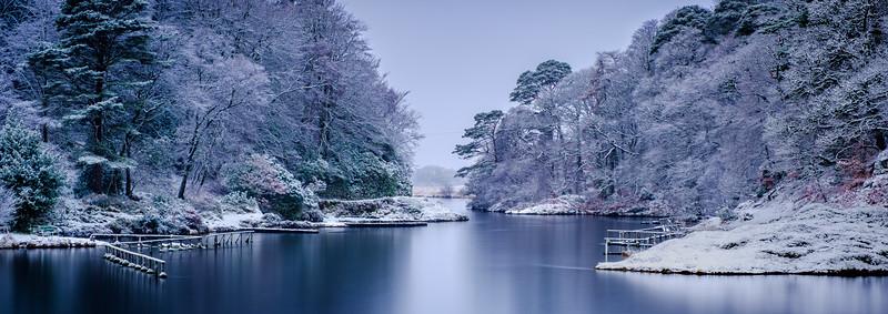 Steely Winter Blues - River Shiel, Blain, Moidart