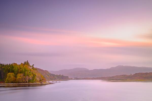 Serene Shiel – River Shiel from Eilean Tioram, Doirlinn, Moidart