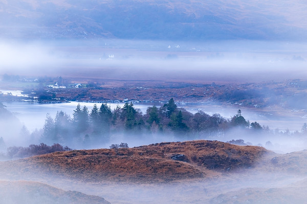 From the Mist I - Egnaig Hill, Glenuig, Moidart