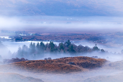 From the Mist - Egnaig Hill, Glenuig, Moidart