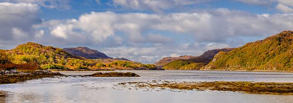 Ardmolich Autumn - Loch Moidart, Ardmolich, Moidart