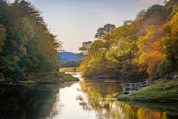 An Autumn Peace - River Shiel, Blain, Moidart