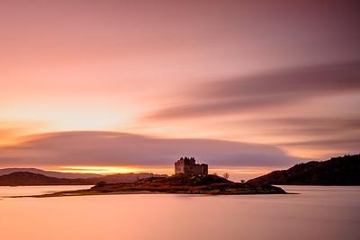On an Island I - Castle Tioram, Loch Moidart, Doirlinn, Moidart