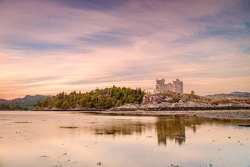 Tinted Tioram I - Castle Tioram, Doirlinn, Moidart