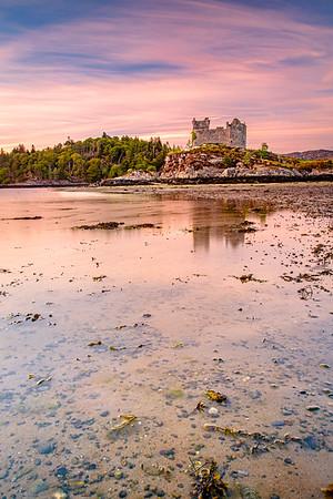Tinted Tioram II - Castle Tioram, Doirlinn, Moidart