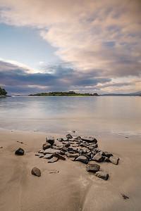 Evening Respite - Samalaman Bay, Glenuig, Moidart