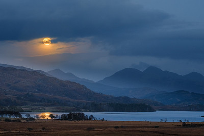 Hunter's Blue Moon - Loch Shiel viewed from Cnoc Breac, Mingarry, Moidart