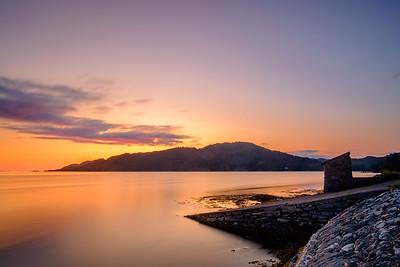 To Shona - Eilean Shona from Cùl Doirlinn, Moidart