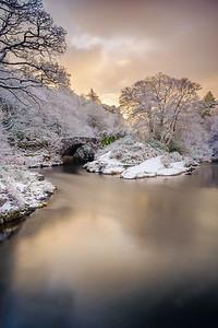 Winter River of Gold II - River Shiel, Blain, Moidart
