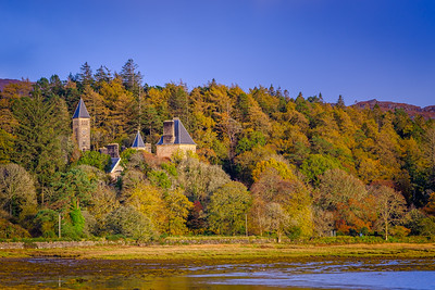 Autumnal Ardtornish I - Ardtornish House, Ardtornish, Morvern