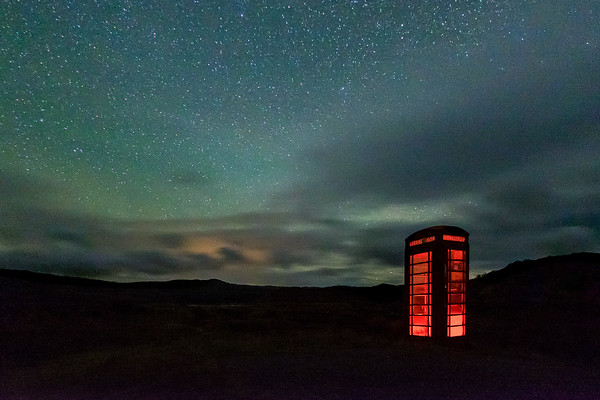 Red Phone Box I - Gobshealach, Kentra Moss, Ardnamurchan