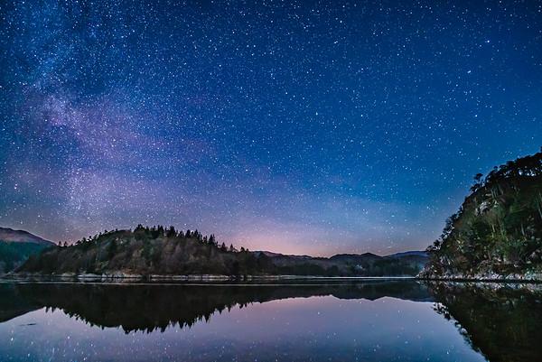 Moidart Reflections - Loch Moidart by Castle Tioram. Doirlinn, Moidart