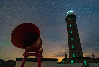 Sound and Light at Night - Ardnamurchan Lighthouse, Ardnamurchan Point, Ardnamurchan