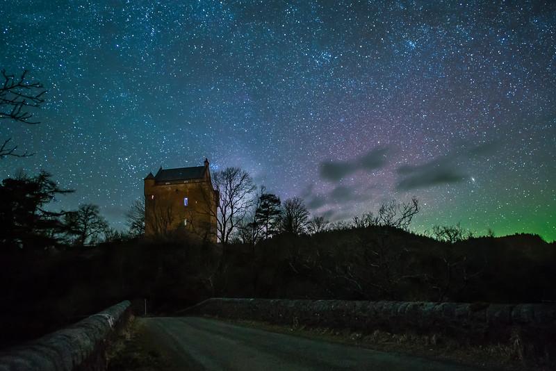 The Keep and the Stars - Kinlochaline Castle, Ardtornish Estate, Morvern