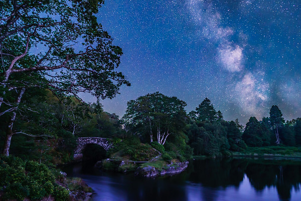 Galactic Crossing - River Shiel, Blain, Moidart