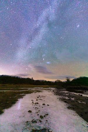 Ice Path to Orion - Ceann Traigh Breige, Ardery, Sunart