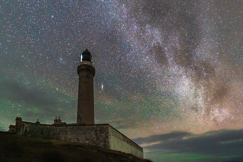 Under Our Galaxy II - Ardnamurchan Lighthouse, Ardnamurchan Point, Ardnamurchan
