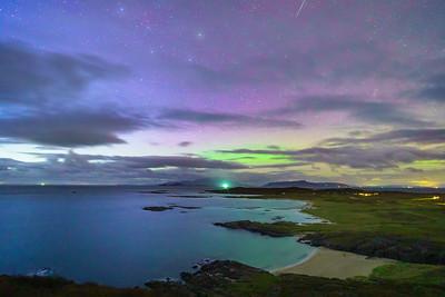Distant Aurora - Sanna Bay, Sanna, Ardnamurchan