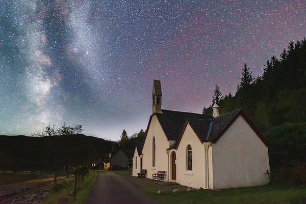 Evening Worship - Kingairloch Church, Camasnacroise, Ardgour
