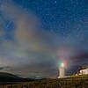 Quadrantid - Corran Lighthouse, Corran, Ardgour