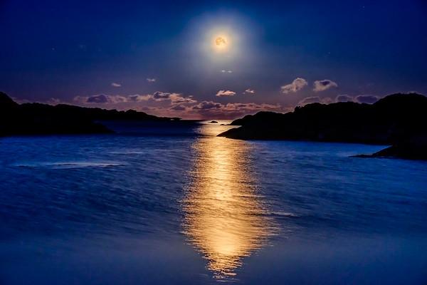 Golden Moon - Sailean Dubh, Ardtoe, Ardnamurchan