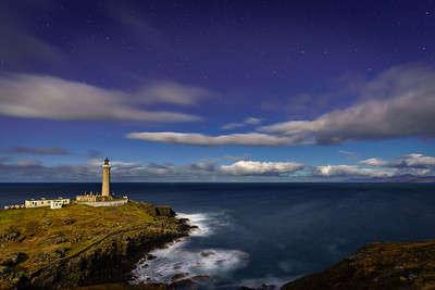 Moonlit Light - Ardnamurchan Lighthouse, Ardnamurchan Point, Ardnamurchan