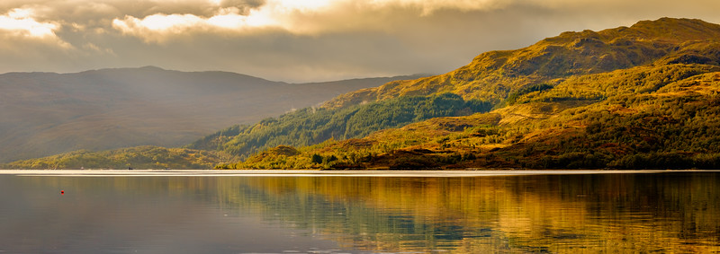 Good Morning Sunart - Morvern from Loch Sunart Shore, Rockpool House, Resipole, Sunart