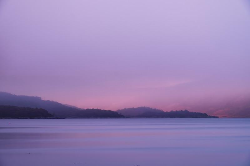 Sunrise and Snow I - Loch Sunart, Resipole, Sunart